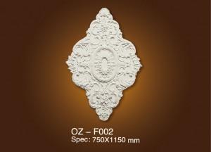 Discountable price Decorating Marble Fireplace - Medallion OZ-F002 – Ouzhi