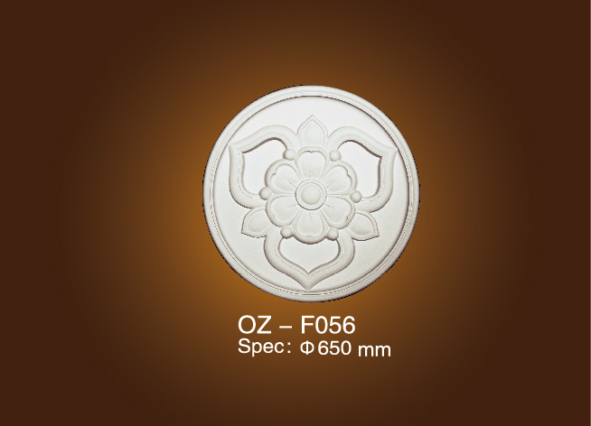 Hot-selling Polystyrene Foam Cornice - Medallion OZ-F056 – Ouzhi