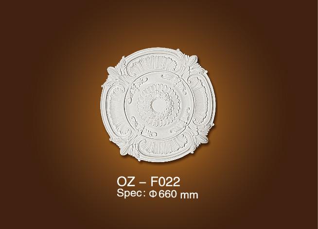 Cheapest Factory Pu Decorative Indoor Fire Place - Medallion OZ-F022 – Ouzhi