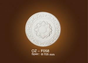Good Wholesale Vendors Serrated Steel Grating - Medallion OZ-F058 – Ouzhi