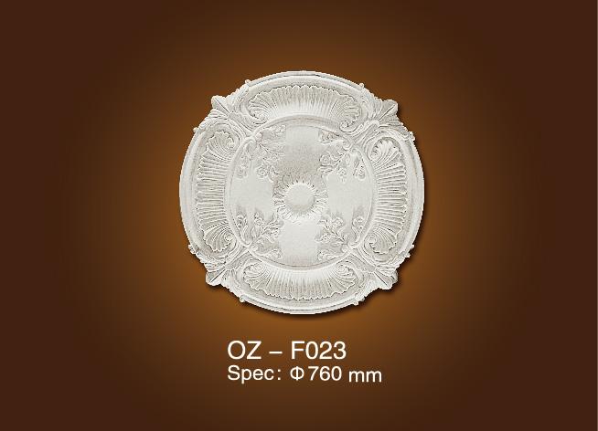 100% Original Polyurethane Ornaments Gypsum Ceiling Border Line - Medallion OZ-F023 – Ouzhi