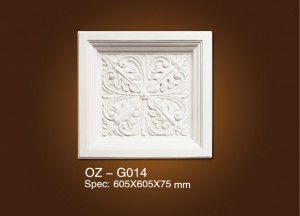 High definition Exterior Decorative Polyurethane Ceiling Cornice -