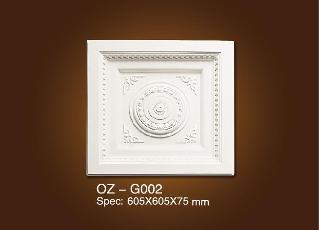 China OEM Plastic Greek Columns - Medallion OZ-G002 – Ouzhi