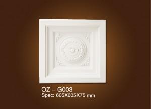 Medailón OZ-G003