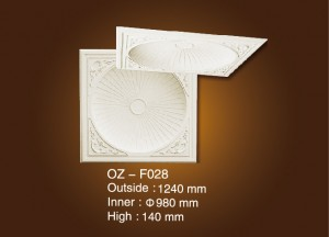 Factory Free sample Gypsum Cornice Moulding Concise Line Design -