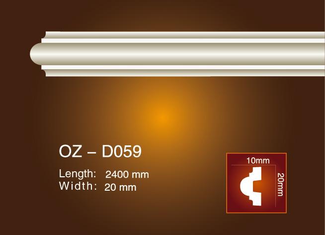 OEM/ODM China Pvc Foam Skirting Board - Side Flat Wire OZ-D059 – Ouzhi