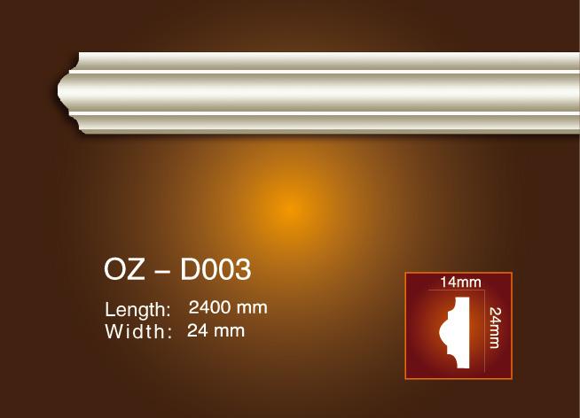 High Quality Design Modern Balcony Pillar Design - Side Flat Wire OZ-D003 – Ouzhi