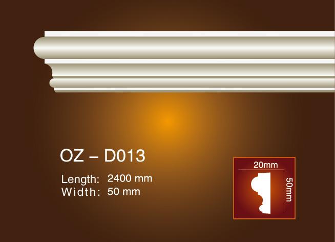 Cheapest Price Pu Decorative Fireplace Mantel Shelf - Side Flat Wire OZ-D013 – Ouzhi