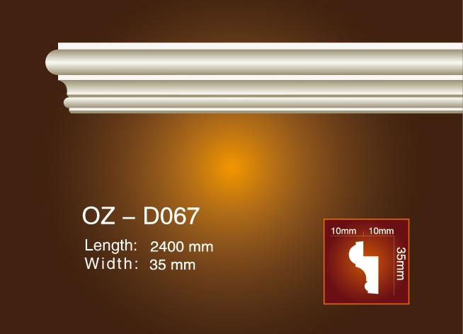 High Performance Gypsum Roman Column - Side Flat Wire OZ-D067 – Ouzhi