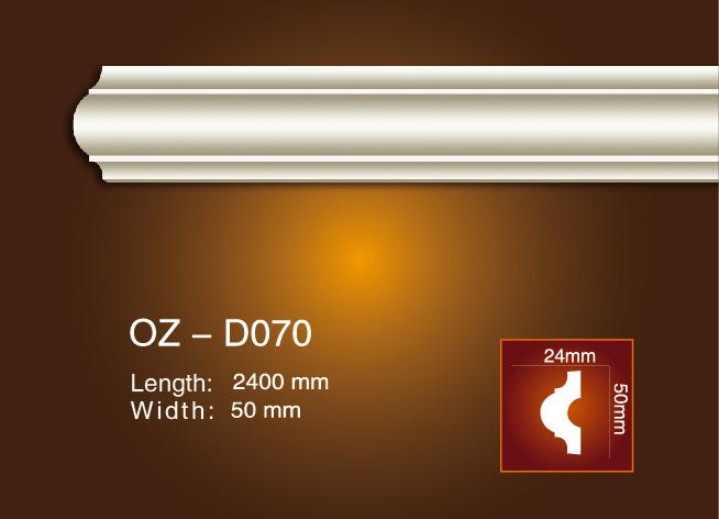 Factory made hot-sale Plastic Polyurethane Fireplaces - Side Flat Wire OZ-D070 – Ouzhi