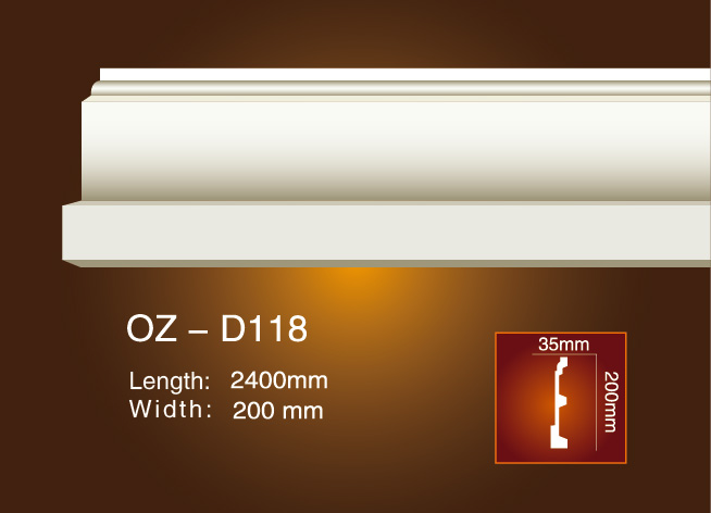 One of Hottest for Cornice In Malaysia - Side Flat Wire OZ-D118 – Ouzhi Featured Image