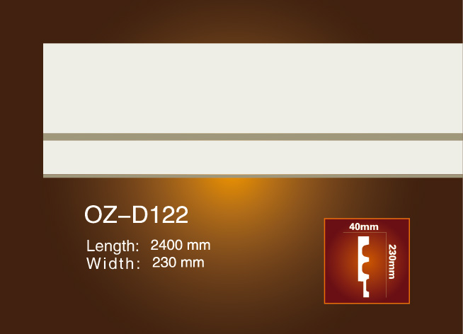 Reasonable price Pu Wall Moulding Ceiling Design -