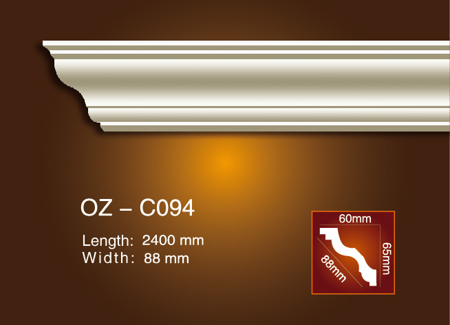 2017 China New Design Decorative Plaster Cornice -