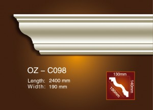 Cheap price Pvc Foamed Crown Moulding -