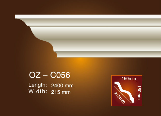 Ordinary Discount Gold And Black Decorative Ps Moulding - Plain Angle Line OZ-C056 – Ouzhi Featured Image