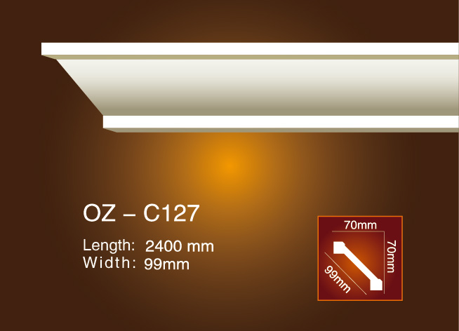 Hot-selling Cornice Moulding Supplier - Plain Angle Line OZ-C127 – Ouzhi
