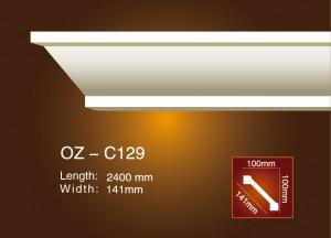 Fast delivery Gypsum Ceiling Corner - Plain Angle Line OZ-C129 – Ouzhi