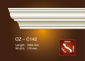 Factory wholesale Plain Gypsum Gesso Light Trough - Plain Angle Line OZ-C142 – Ouzhi