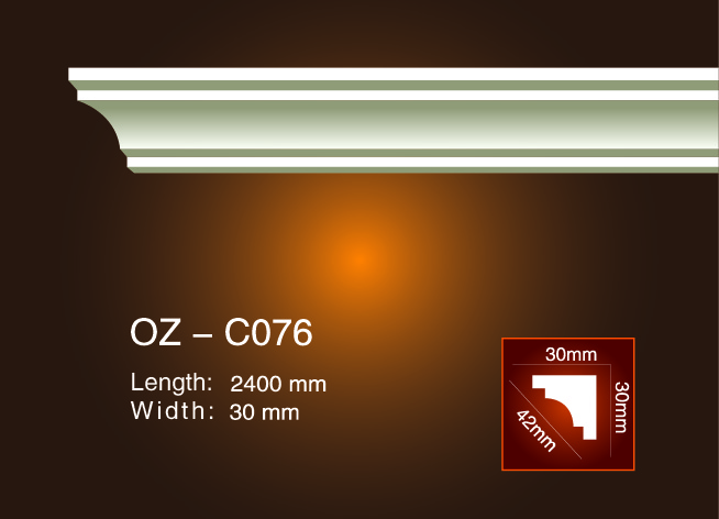 Reliable Supplier Rotomolding Molding Products - Plain Angle Line OZ-C076 – Ouzhi