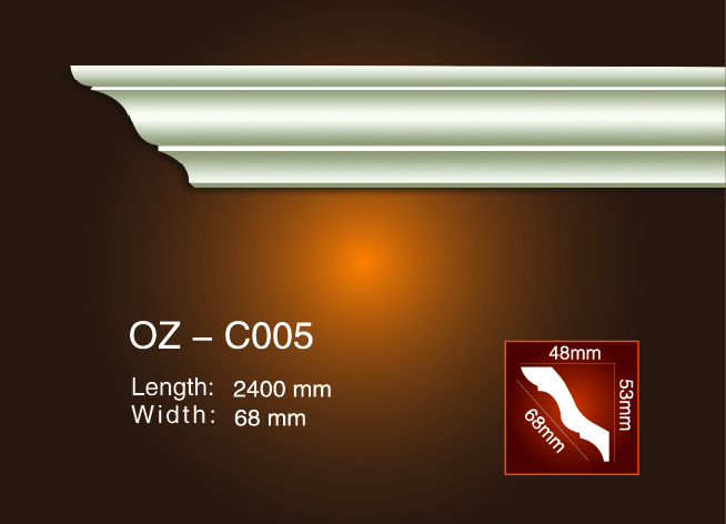 China Factory for Facade Decoration Moulding -