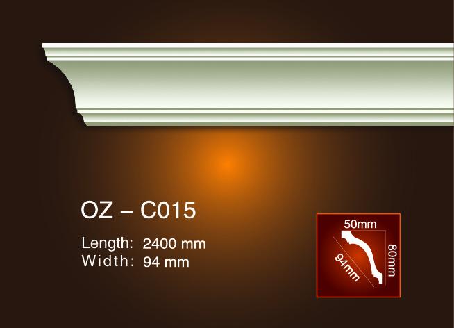 2017 High quality Polyurethane Crown Moulding Ideas - Plain Angle Line OZ-C015 – Ouzhi