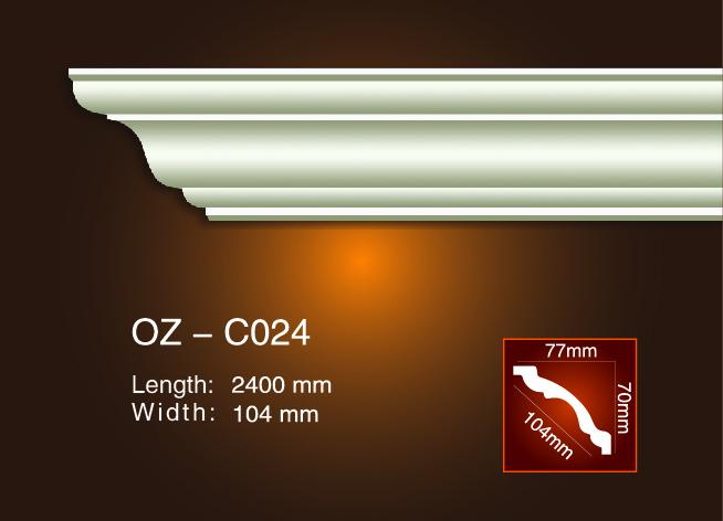Lowest Price for Pu Foam Flexible Crown Molding - Plain Angle Line OZ-C024 – Ouzhi