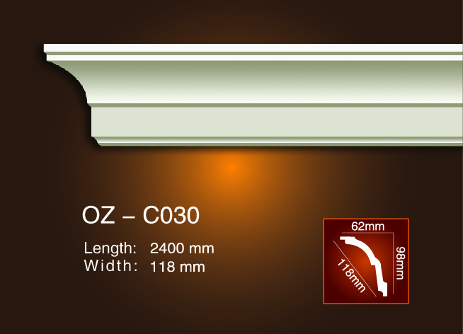 Factory Price Rectangular Water Trough - Plain Angle Line OZ-C030 – Ouzhi
