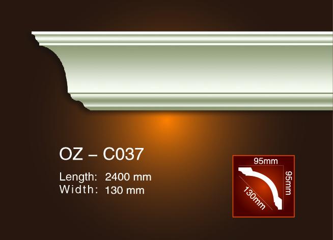 Excellent quality Gypsum Plaster Moulding - Plain Angle Line OZ-C037 – Ouzhi
