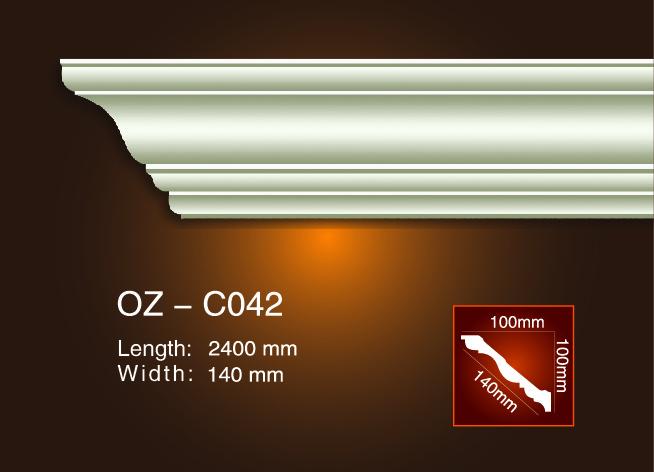 Hot-selling Injection Moulding Plastic - Plain Angle Line OZ-C042 – Ouzhi