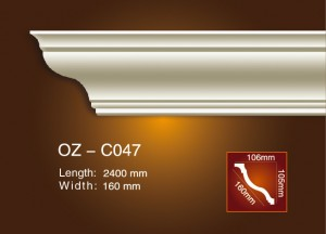 Low MOQ for Professional Design Polyurethane Cornice - Plain Angle Line OZ-C047 – Ouzhi