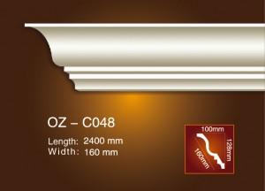 Big discounting Grc Decorative Mouldings - Plain Angle Line OZ-C048 – Ouzhi
