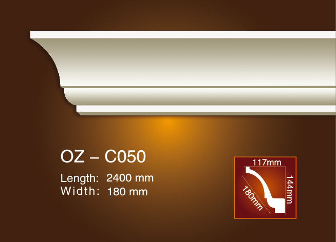Cheap price Pvc Foamed Crown Moulding - Plain Angle Line OZ-C050 – Ouzhi