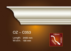 Factory Cheap Carved Crown Moulding -