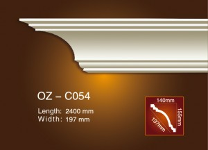 Leading Manufacturer for Gypsum Decorative Cornices Price -