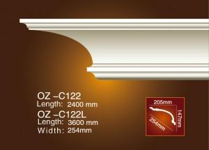 Discountable price Tile Trim Plastic Strip Pvc Mouldings - Plain Angle Line OZ-C122 – Ouzhi