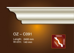 Good Wholesale Vendors Pu Corners Mouldings -