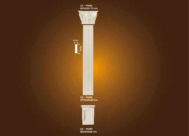 PU Roman Column OZ-P009A-C Featured Image