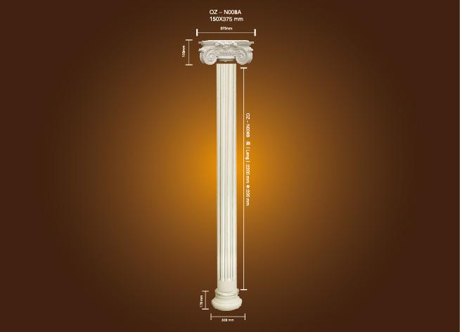 Fast delivery Working Models Solar Energy - PU Roman Column OZ-N008A – Ouzhi