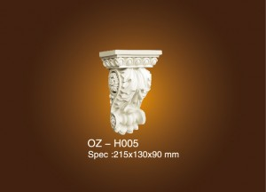 Fixed Competitive Price Stage Decoration Ideas - Exotic Corbels OZ-H005 – Ouzhi