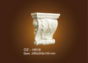 Super Lowest Price Wholesale Price Pu Shoe Mould - Exotic Corbels OZ-H016 – Ouzhi