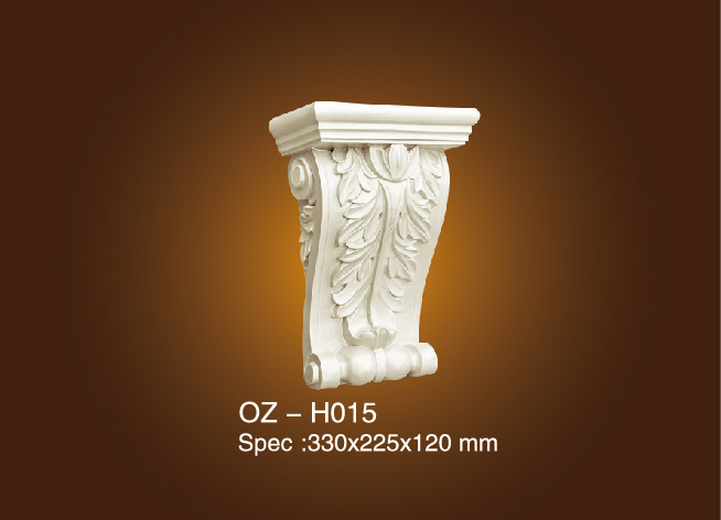 Factory made hot-sale Carved Glass Dividers - Exotic Corbels OZ-H015 – Ouzhi