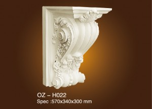 Hot New Products Plaster Ceiling Pop Cornice - Exotic Corbels OZ-H022 – Ouzhi