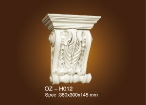 Factory Price For Wood Carve Flower Moulding -