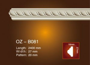 Hot sale Eps Polyurethane Cornice Moulding -