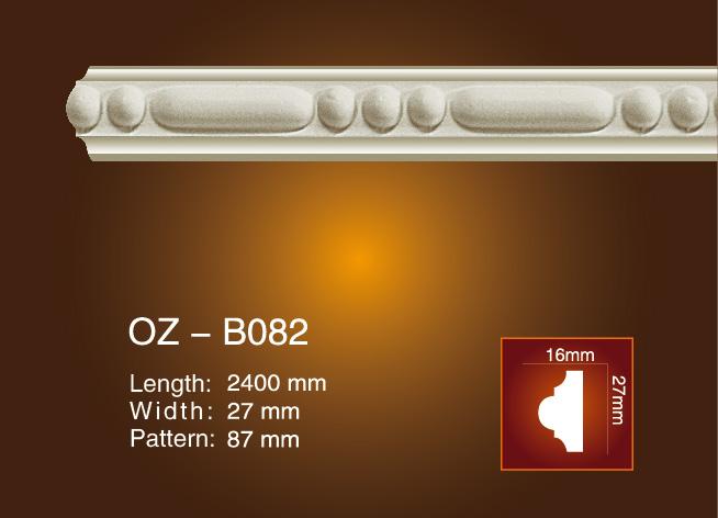 2017 Latest Design Column Pillar Mould - Carved Flat Line OZ-B082 – Ouzhi