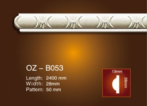 Manufacturer for Soft Interior Wall Panel 3d Leather Panel - Carved Flat Line OZ-B053 – Ouzhi