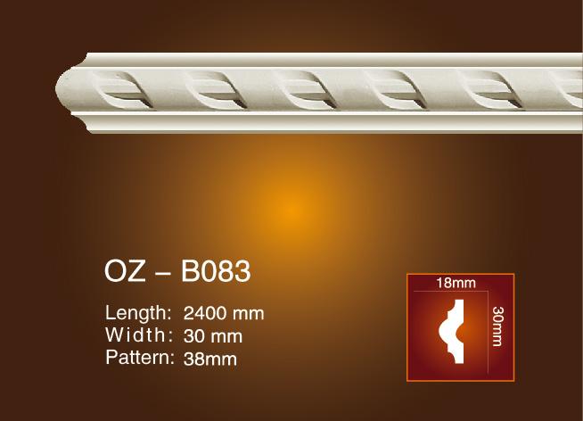 Wholesale Dealers of Light Trough Shape Gypsum Moulding - Carved Flat Line OZ-B083 – Ouzhi