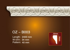 Best quality Plasic Ceiling Mouldings -