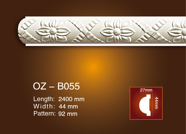 China Manufacturer for Injection Moulding Advantages - Carved Flat Line OZ-B055 – Ouzhi Featured Image