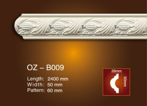 Carved Flat Line OZ-B009